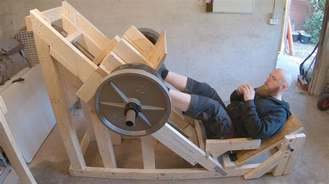 Diy Leg Press Wood
